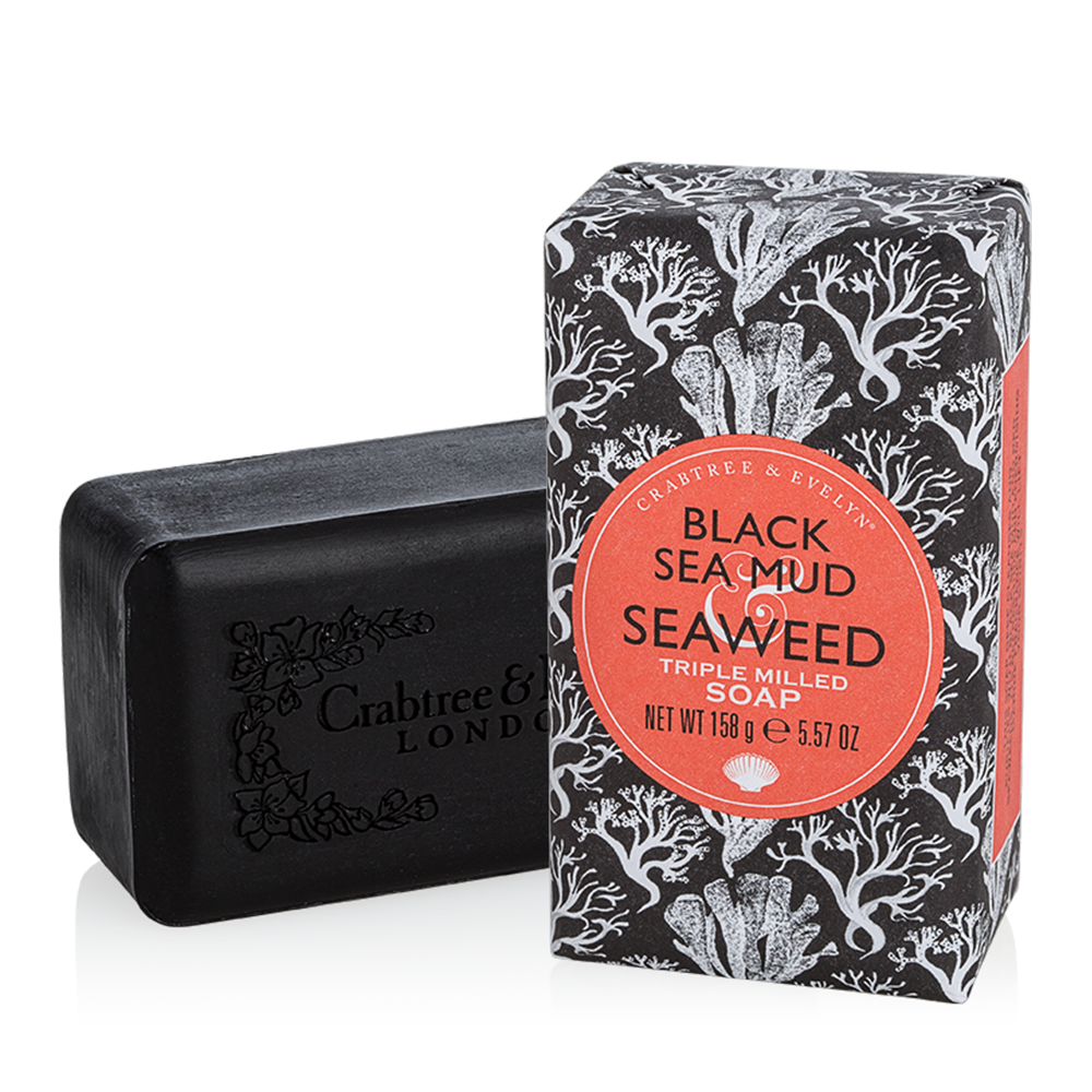 Transparent soaps black. Crabtree evelyn sea mud