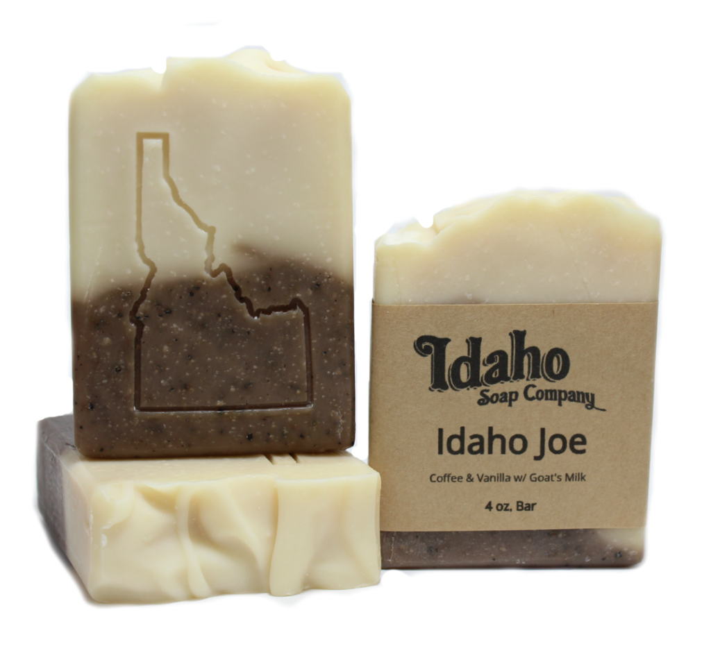 Transparent soaps handmade. Idaho joe coffee soap