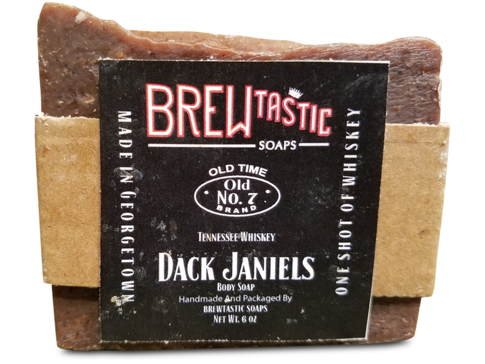 Dack janiels whiskey soap. Transparent soaps old freeuse stock