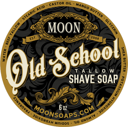 Wet the face moon. Transparent soaps old free library