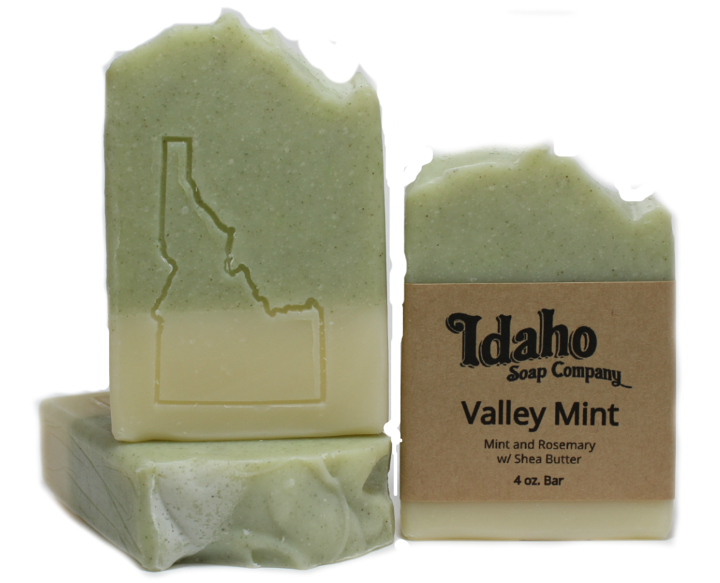 Transparent soaps translucent. Valley mint handmade soap
