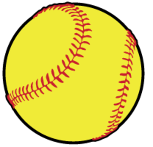 Transparent softball cartoon. Collection of clipart