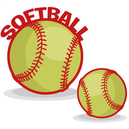 Transparent softball clear background. Collection of clipart