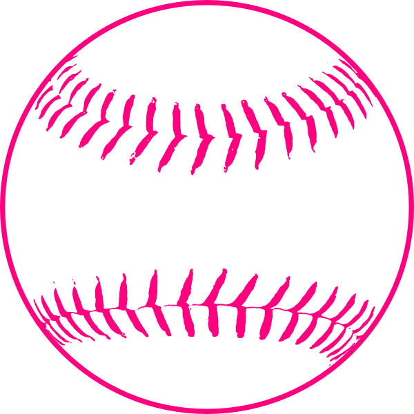 Transparent softball drawn. Heart image library