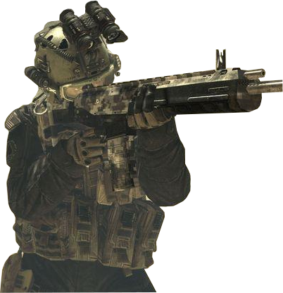 Transparent soldier modern. Warfare by domeatoe on
