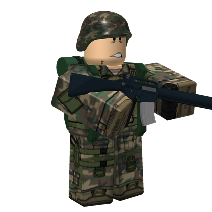 Transparent soldier roblox. S us army