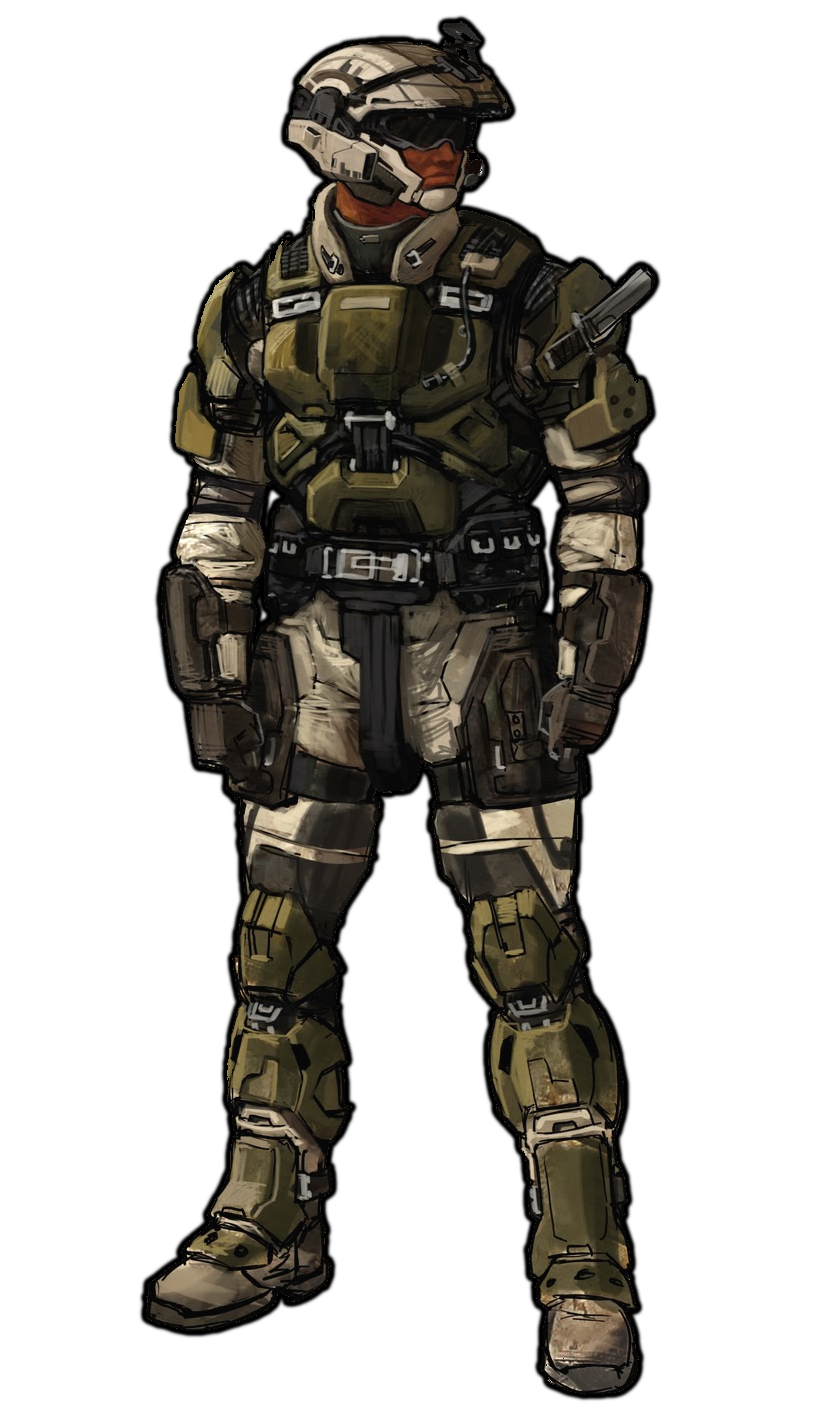 Odst drawing soldier