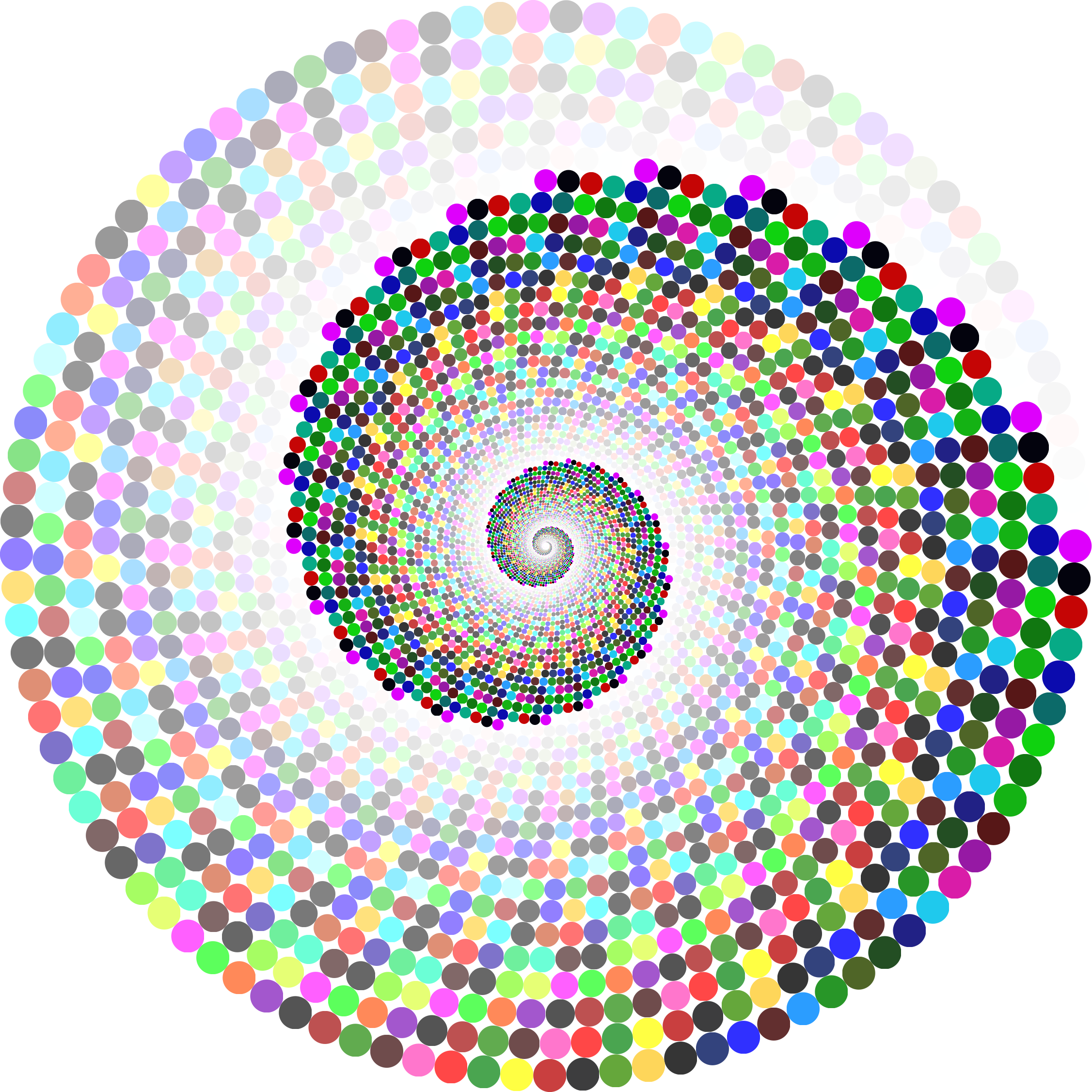 Transparent spiral colorful. Clipart swirling circles vortex