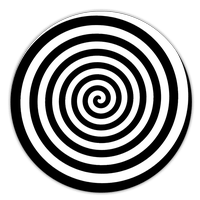 Transparent spiral illusion. For android free download