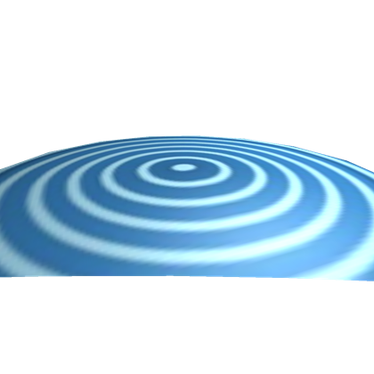 Transparent spiral light blue. Tron identity disk roblox