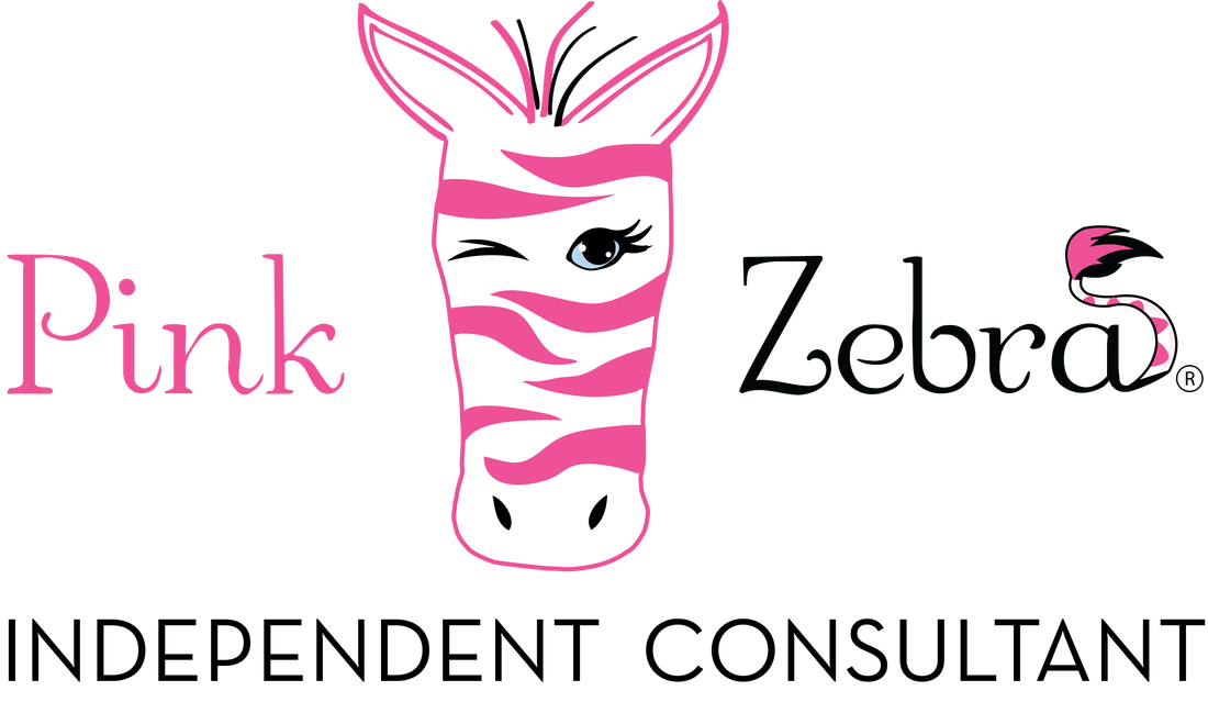 transparent sprinkles pink zebra