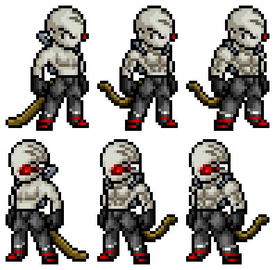 Transparent sprites character. Sorrelo sprite showoff by