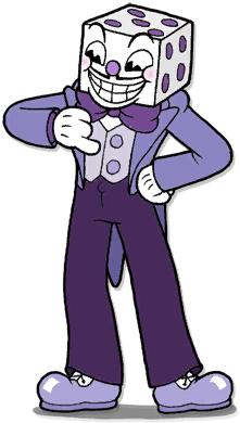 Transparent sprite cuphead. Image king dice png