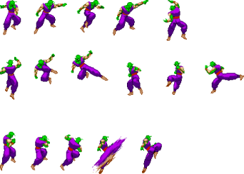 Transparent sprite dragon ball. Image piccolo sprites png