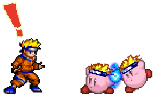 Transparent sprite naruto. Kirby by woot on