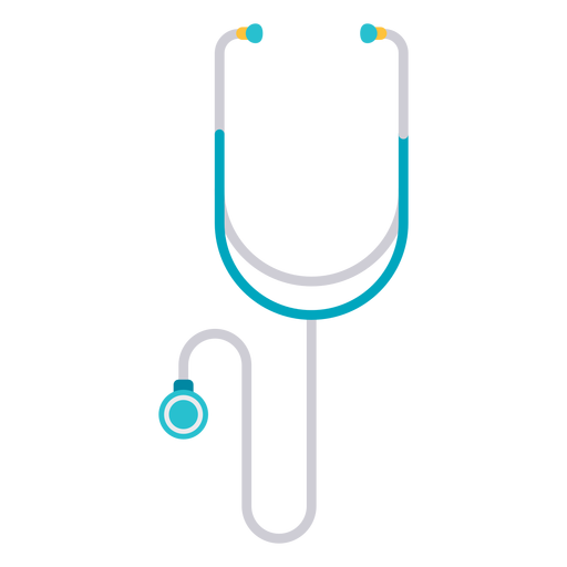 Transparent stethoscope doctor. Icon png svg vector