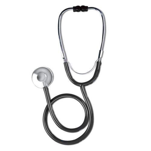 Transparent stethoscope uses. Medical single head wholesaler