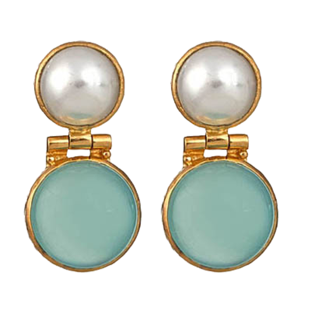 Transparent stones cabochon. Versatile and tailored the