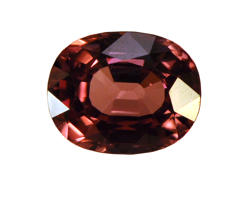 Transparent stones garnet. January s diverse birthstone