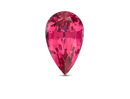 Spinel gemstone stone. Ruby transparent gia free library