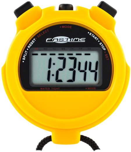 Transparent stopwatch fastime. Download hd large display