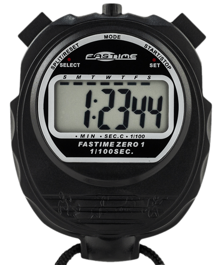 Transparent stopwatch large display. Swimming stopwatches economy single