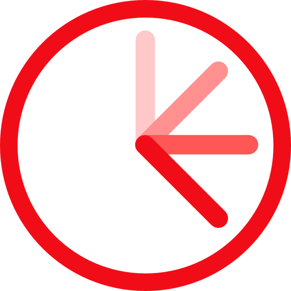 Transparent stopwatch red. Png huge freebie