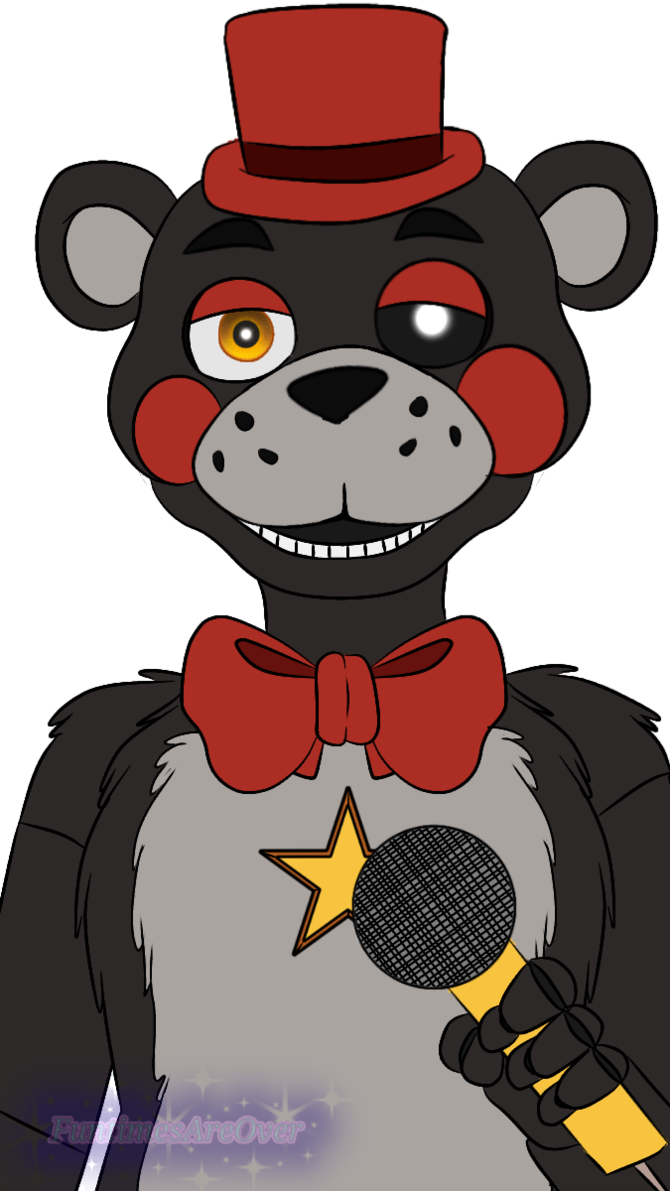 Transparent stuff fnaf. Lefty by funtimesareover and