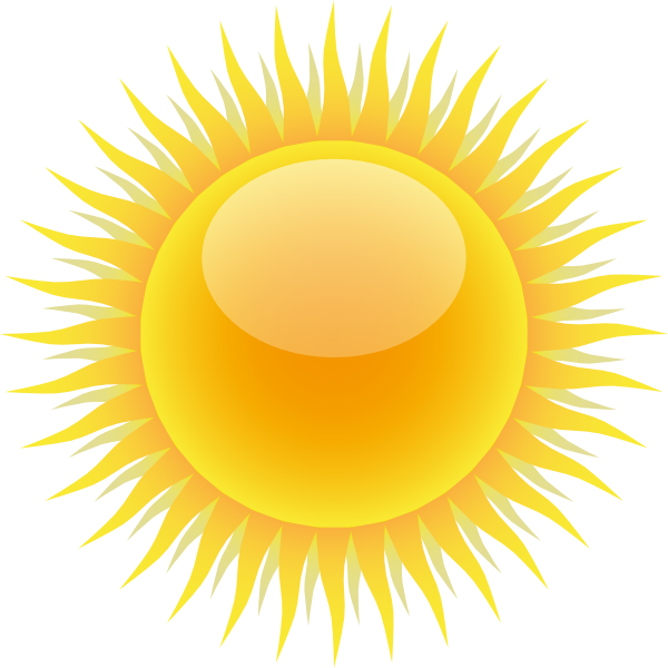 Transparent sunshine light shaft. Sun png image purepng