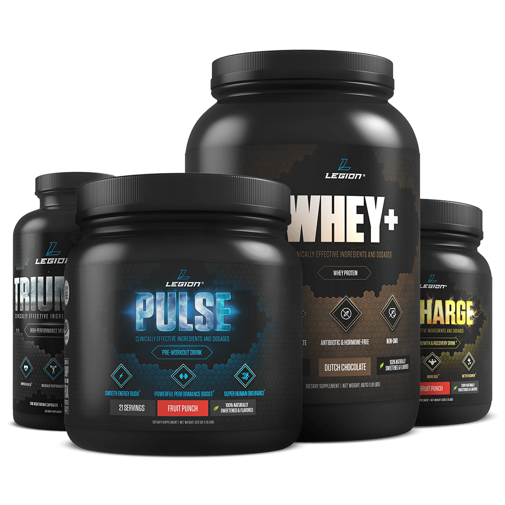 Transparent supplements stack. The build muscle