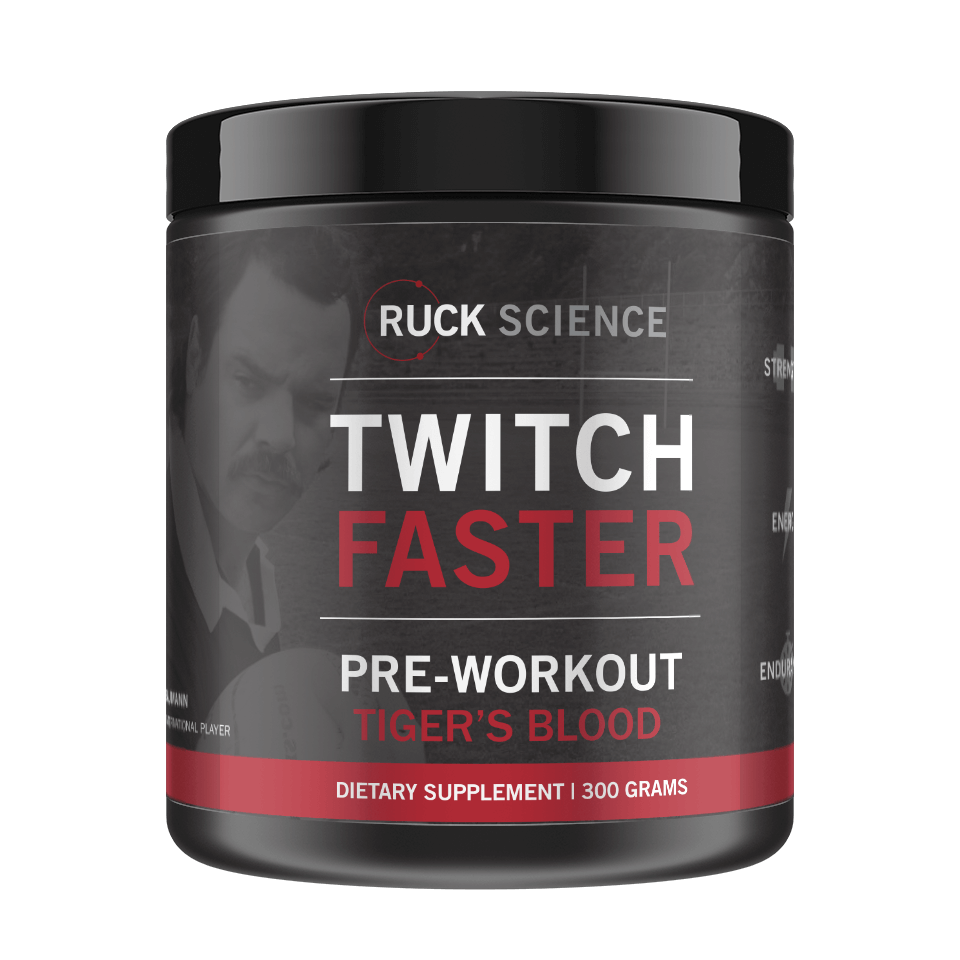 Transparent supplements ritual. Twitch faster the pre