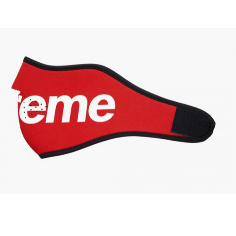Transparent supreme accessories. Mouth guard red
