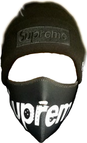 Transparent supreme mask. Largest collection of free