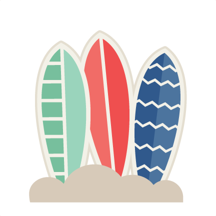 Transparent surfboard cute. Surfboards svg cut file