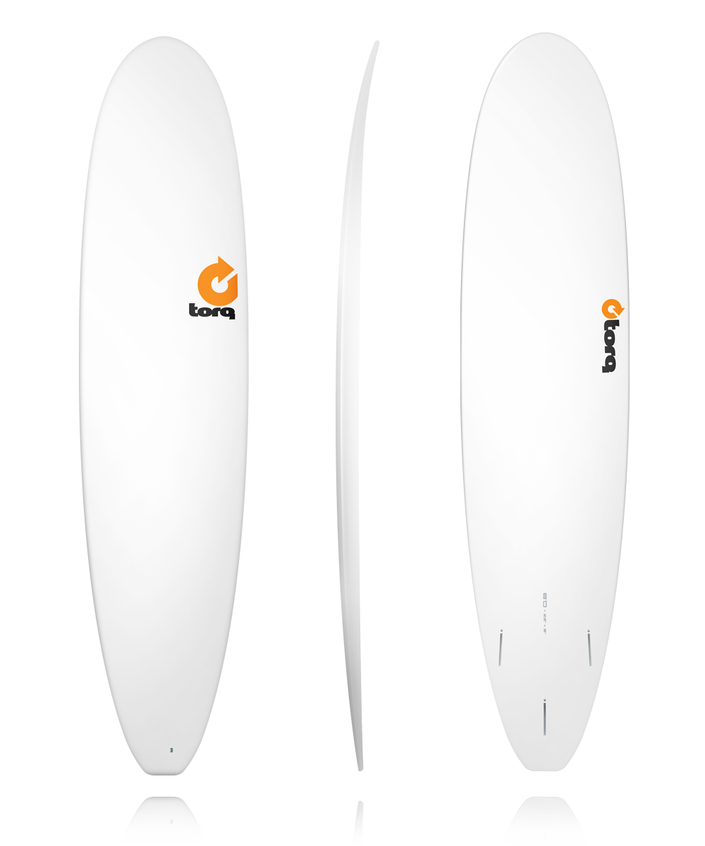 transparent surfboard dip