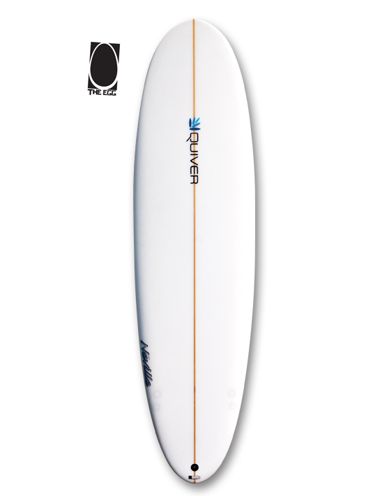 transparent surfboard eco