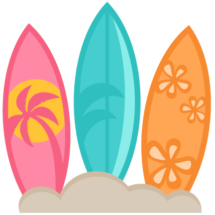 Transparent surfboard svg. Surfboards scrapbook cut file