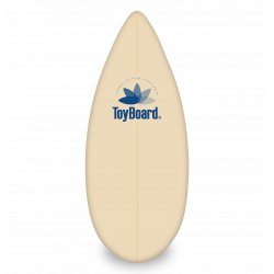 Transparent surfboard toy. Family toyboard indoor made