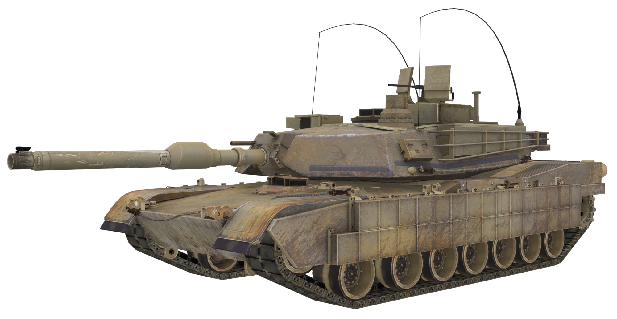 Transparent tank m1a2. M a abrams call