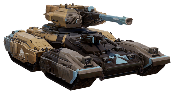 Transparent tank m1a2. How does the scorpion