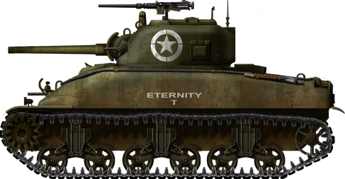 Transparent tank m4a1. Medium m sherman encyclopedia