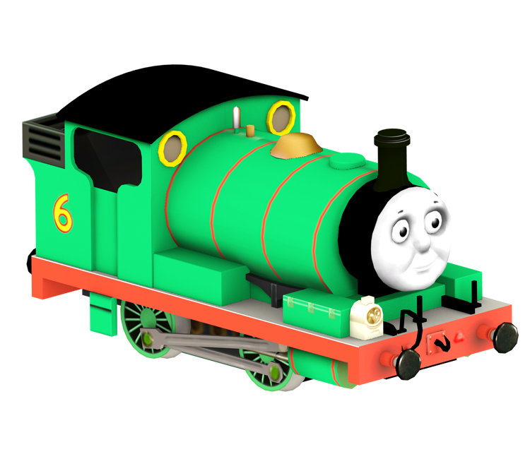 Transparent tank percy the small engine. Wii thomas and friends