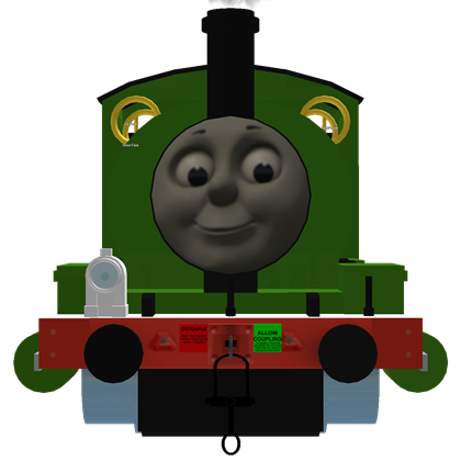 Transparent tank percy the small engine. V roblox