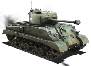 Transparent tank sherman. M a e official