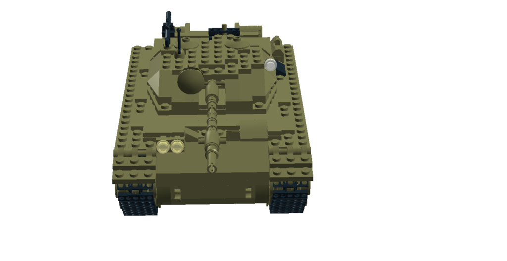 Transparent tank toy. Lego t type requires