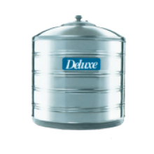 Transparent tank water. Deluxe stainless steel online