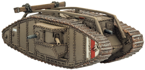 transparent tank ww1