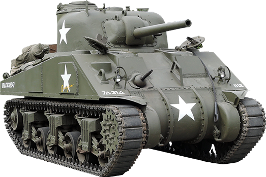 Transparent tank sherman. Ww sticker by darkhorse