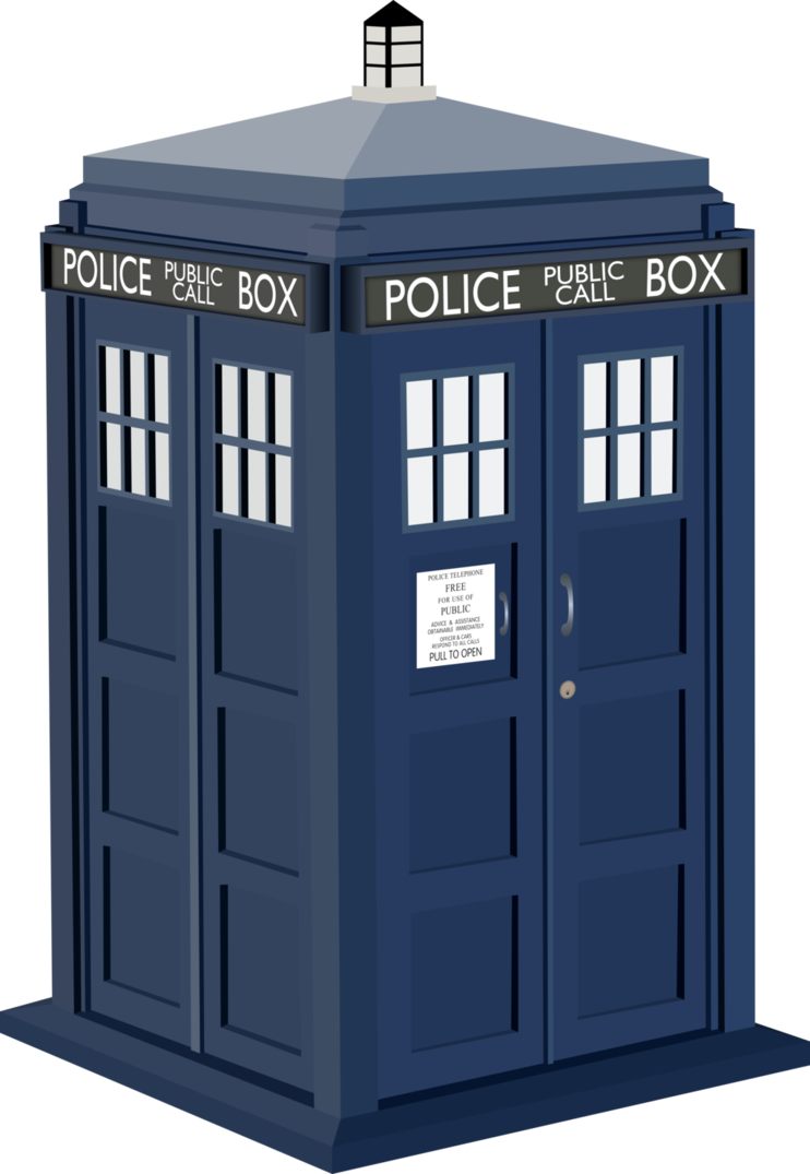 Transparent tardis open. One of the most