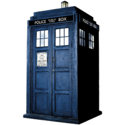 Transparent tardis. Roblox